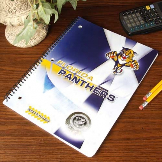 Florida Panthers Notebook