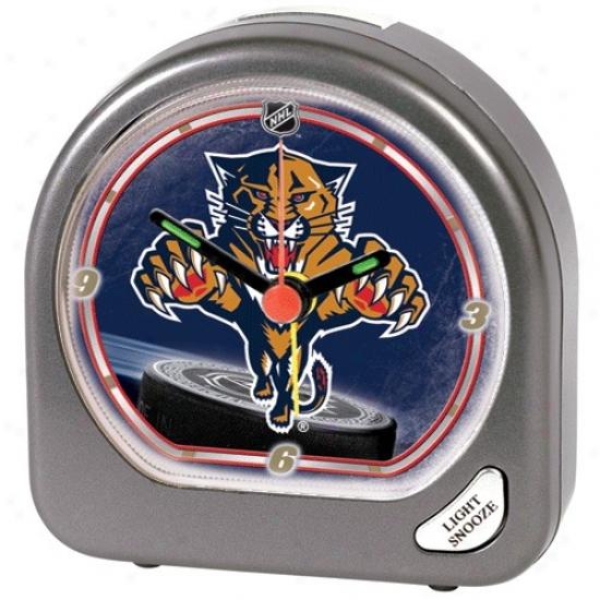 Florida Panthers Plastic Alarm Clock