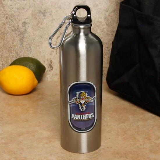 Florida Panthers Spotless Steel Water Bottle