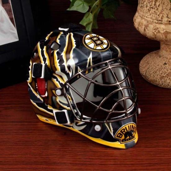 Franklin Boston Bruins Mini Goalie Mask