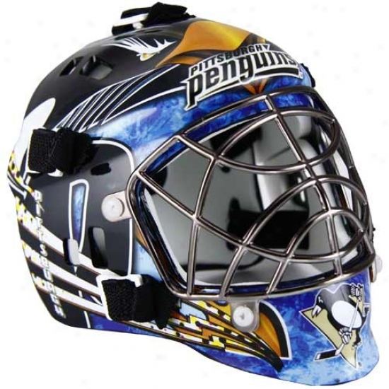 Franklin Pittsburgh Penguins Mlni Goalie Mask