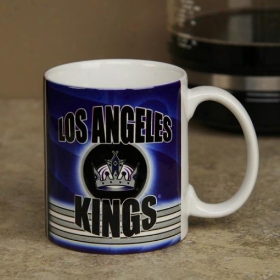 Los Angeles Kings 11oz. Slapshot Coffee Mug