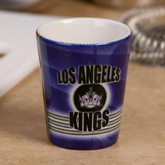 Los Angeles Kings 2oz. Slapshot Ceramic Shot Glass