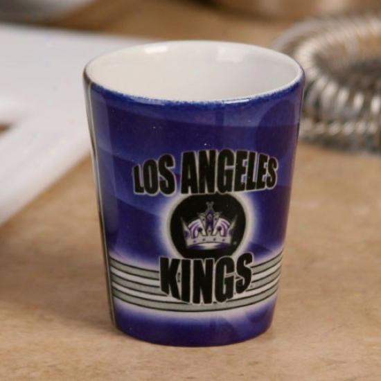 Los Angeles Kings 2oz. Slapshot Ceramic Shot Glass