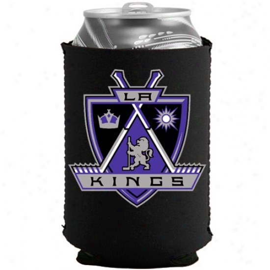 Los Angeles Kings Black Collapsible Can Coolie