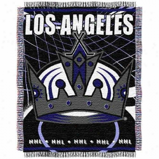 Los Angeles Kings Jacquard Woven Blanket Throw