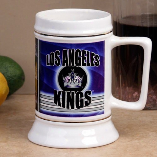 Los Ang3les Kings Slapshot 28oz. Ceramic Stein