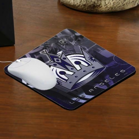 Los Angeles Kings Team Logo Neoprene Mousepad