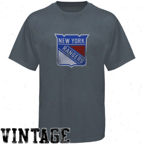 Majestic New York Rangers Navt Blue Big Time Play T-shirt