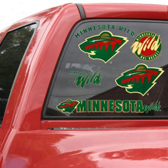 Minnesota Wile 11'' X 17'' Window Clings Sheet