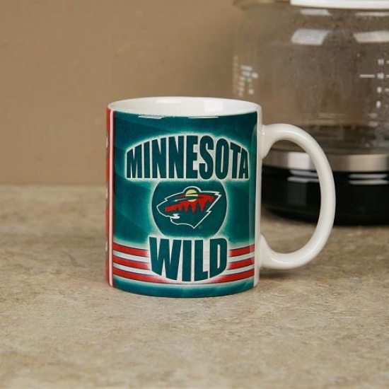 Minnesota Wild 11oz. Slapshot Coffee Mug