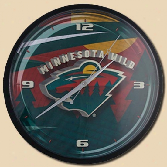 Minnesota Wild 12'' Wall Clock
