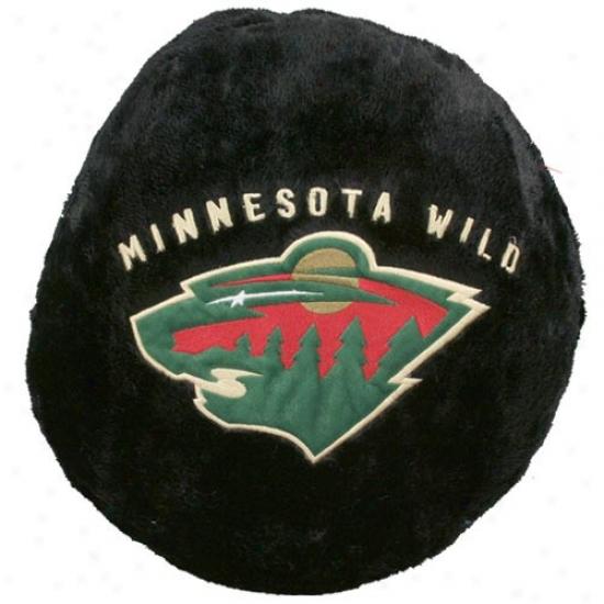 Minnesota Wild 14-inch Team Logo Plush Pillow