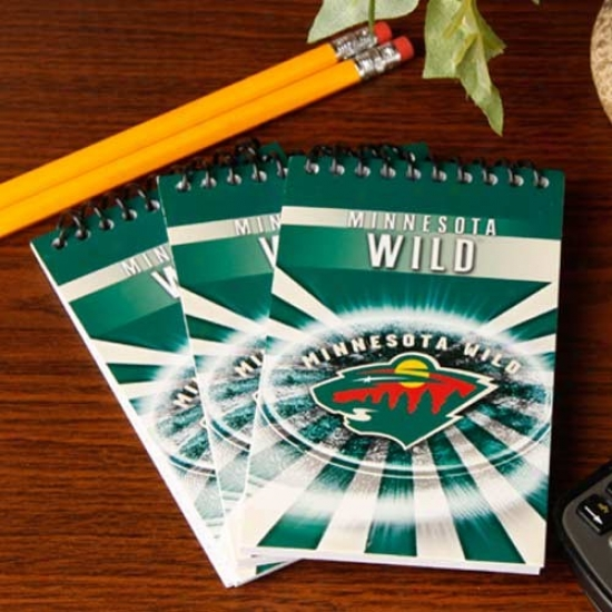 Minnesota Wild 3-pack Team Memo Pads