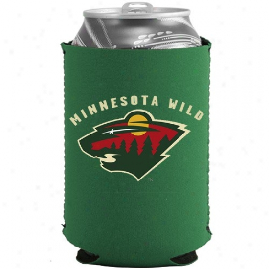 Minnesota Wild Green Collapsible Be able to Coolie