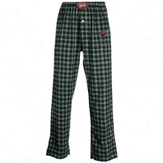 Minnesota Wild Green Tailgate Pajama Pants