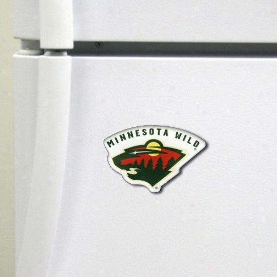 Minnesota Wild High Definition Magnet