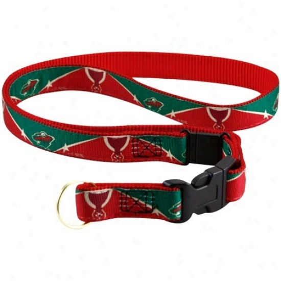 Minnesota Wild Red-gresn Lanyard