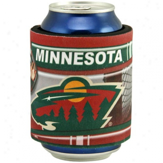 Minnesota Wild Slap Wrap Can Coolie