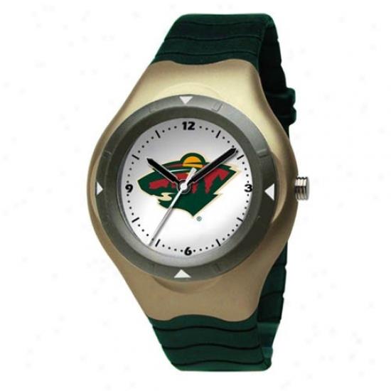 Minnesora Wild Wrist Watc h: Minnesota Wild Prospect Wrist aWtch