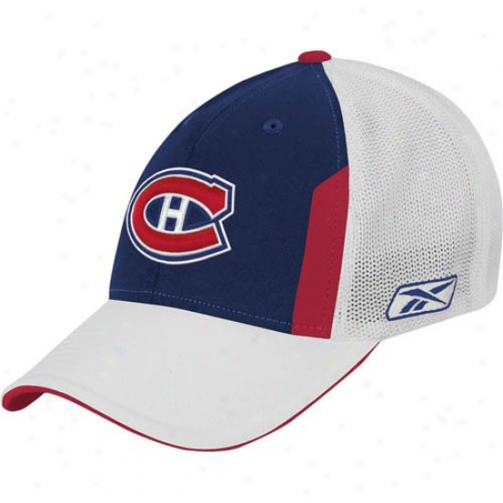 Montreal Canadiens Caps : Reebok Montreal Canadiens 2008 Nhl Draft Day Flex Fit Caps
