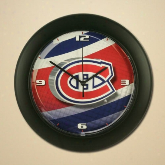 Montreal Canadiens High Definition Wall Clock
