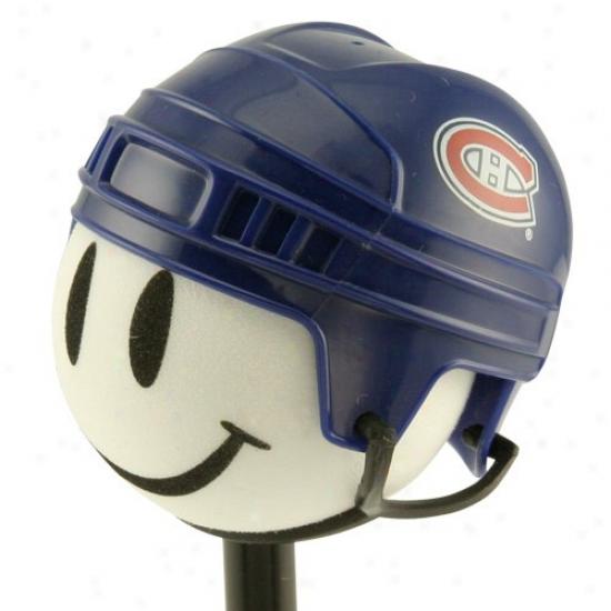 Montreal Canadiens Hockey Helmet Antejna Topper