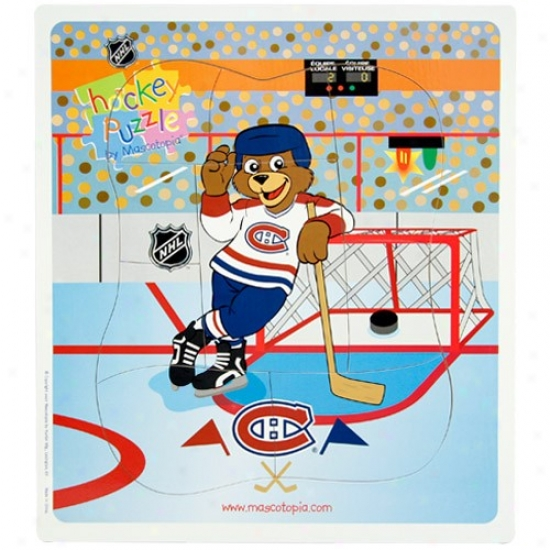 Montreal Canadiens Hockey Puzzle