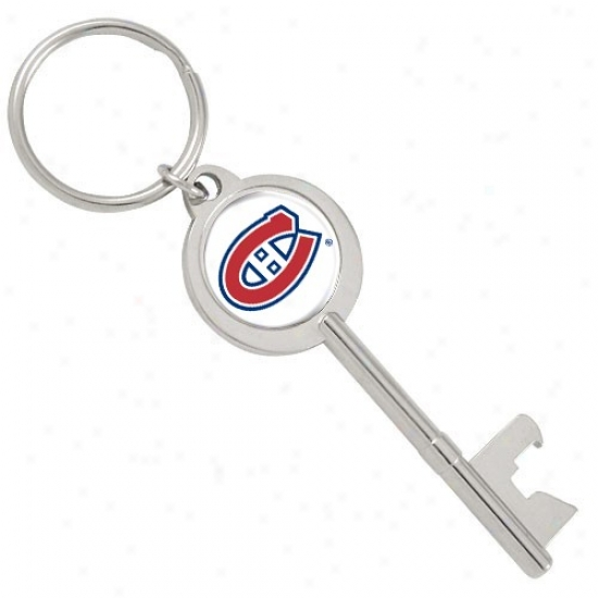 Montreal Canadiens Key Bottle Opener Keychain