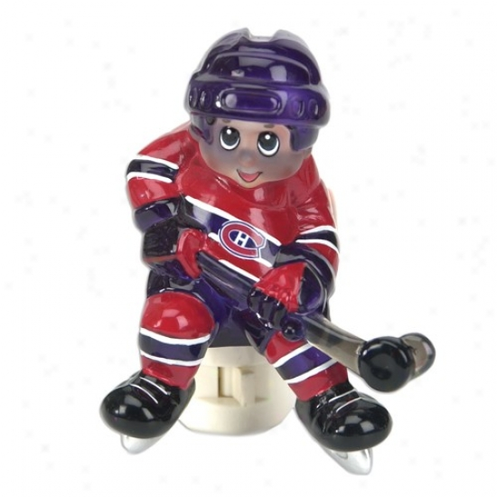 Montreal Canadiens Nhl Night Light