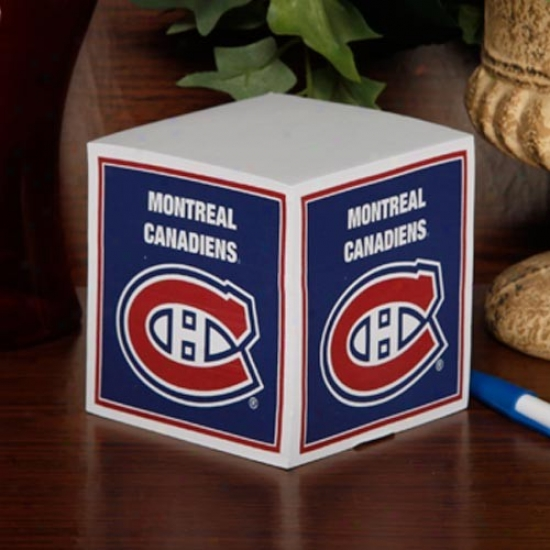 Montreal Canadiens Annotate Cube