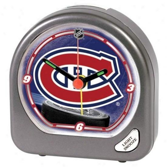 Montreal Canadiens Plastic Alarm Clock