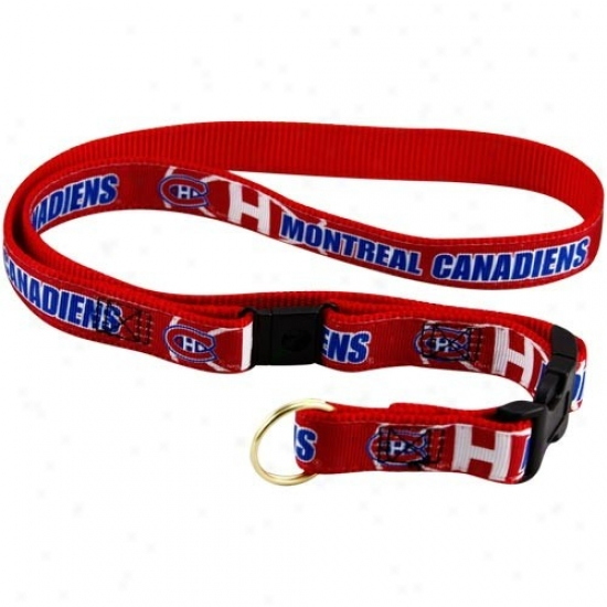 Montreal Canadiens Red Lanyard