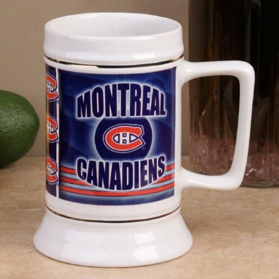 Montreal Canadiens Slapshot 28oz. Ceramic Stein