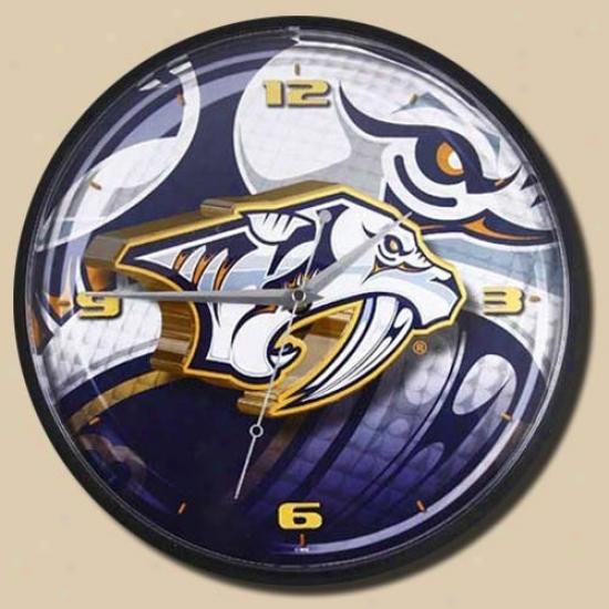 Nashville Predators 12'' Wall Clock
