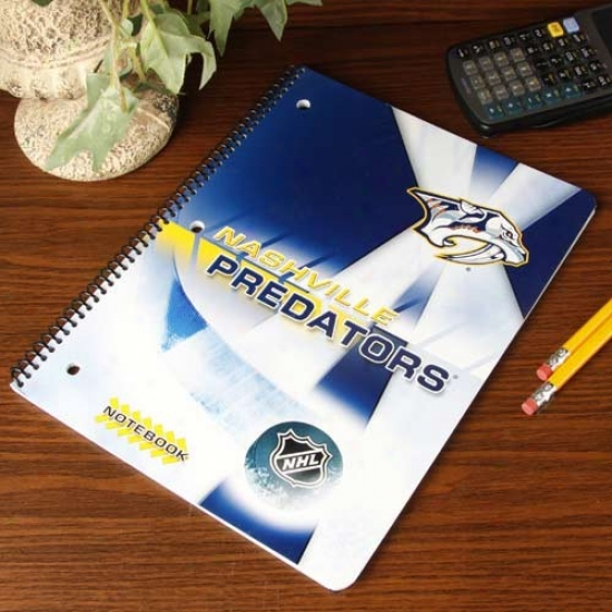 Nashville Predators Notebook