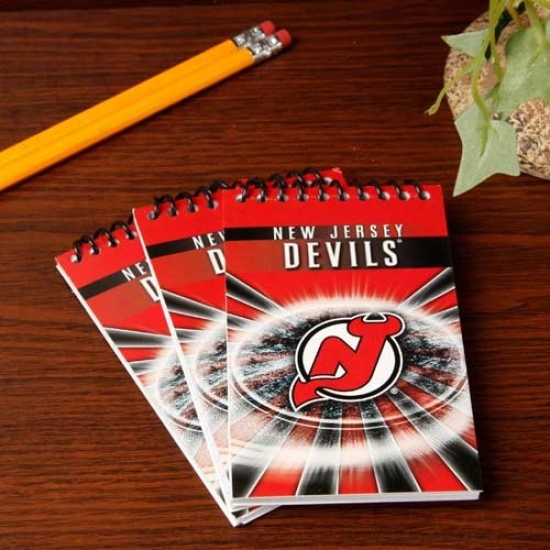 New Jersey Devils 3-pack Team Memo Pads