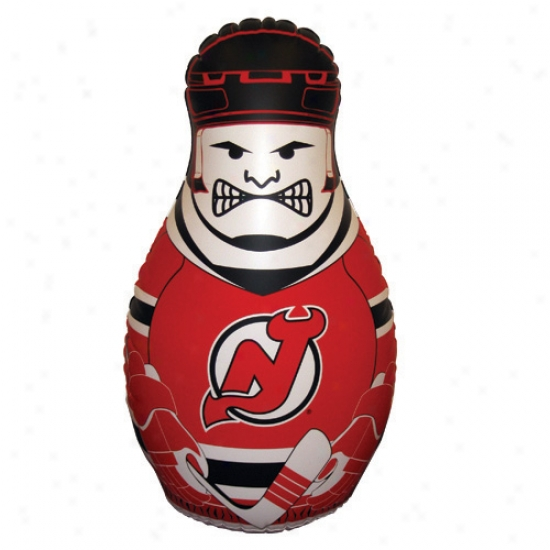 New Jersey Devils 40'' Inflatable Checking Buddy  Punching Bag
