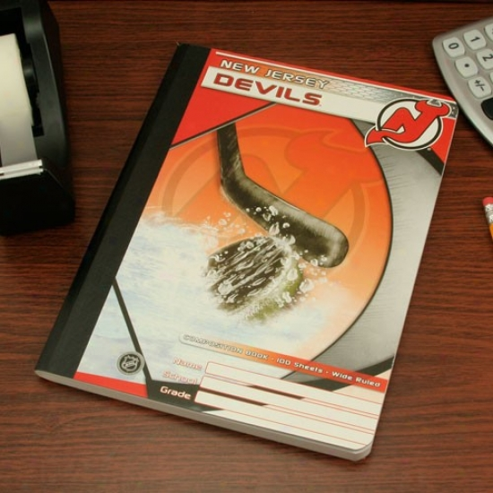 New Jersey Devils Composition Book