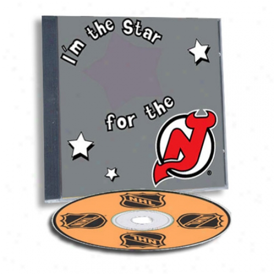 New Jersey Devils Game Hero Custom Sports Cd