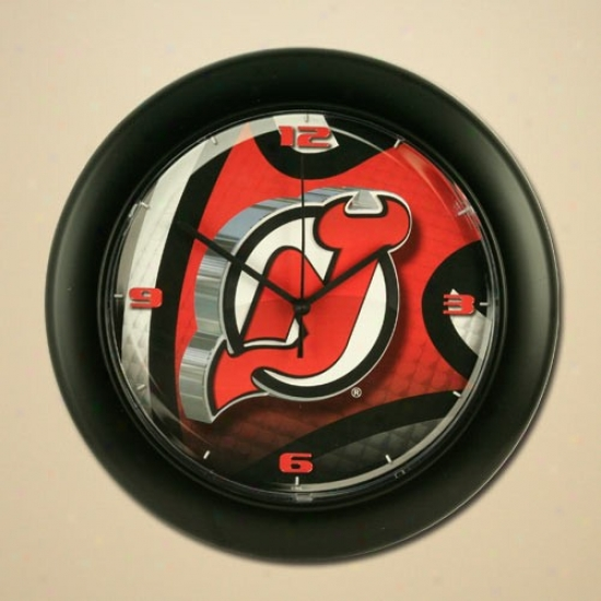 New Jersey Devils High Definition Wall Clock
