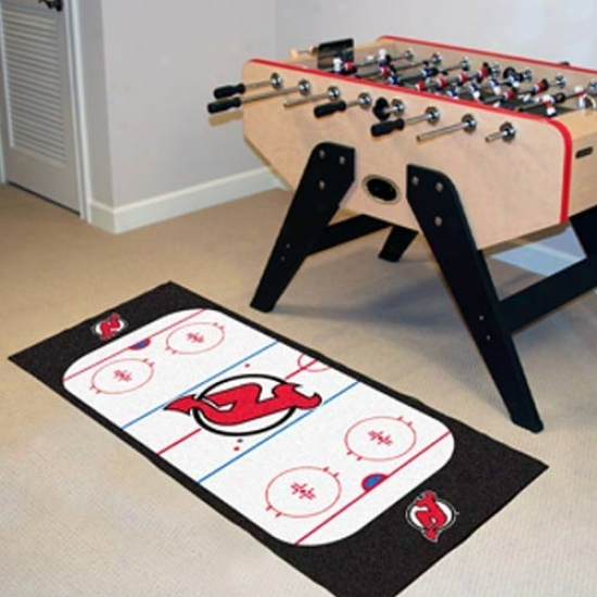 New Jersey Devils Hockey Runner Mat