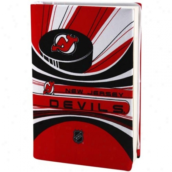 New Jersey Devils Red-white Stretchable Main division Cover