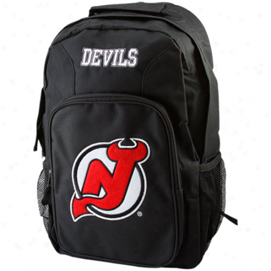 New Jersey Devils Young men Black South0aw Backpack