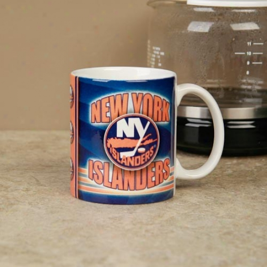 New York Islanders 11oz. Slapshot Coffee Mug