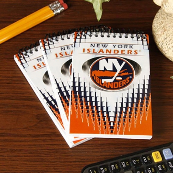 New York Islanders 3-pack Team Memo Pads