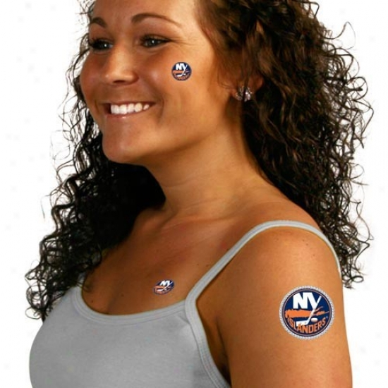 Novel York Islanders Body Art
