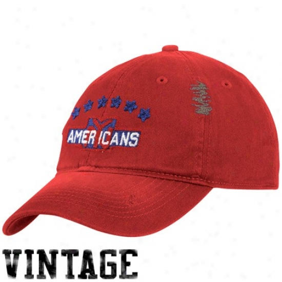 New York Islanders Cap : Reebok New York Islanders Red Vinatge Flex Fit Slouch Cap