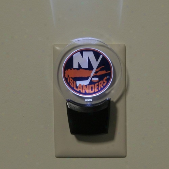 New York Islanders Led Night Light