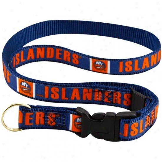 New York Islanders Navy Blue Lanyard
